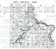 Township 13. N., Range 6 E. - Delton, Dell Creek, Fern Dell, Mirrar Lake, Sauk County 1921